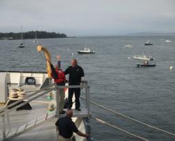 Ship Jump – Maine Maritime Academy 2014 – Castine, ME